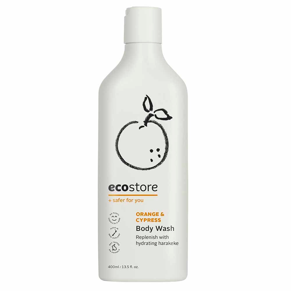 Ecostore Body Wash Orange & Cypress 400ml