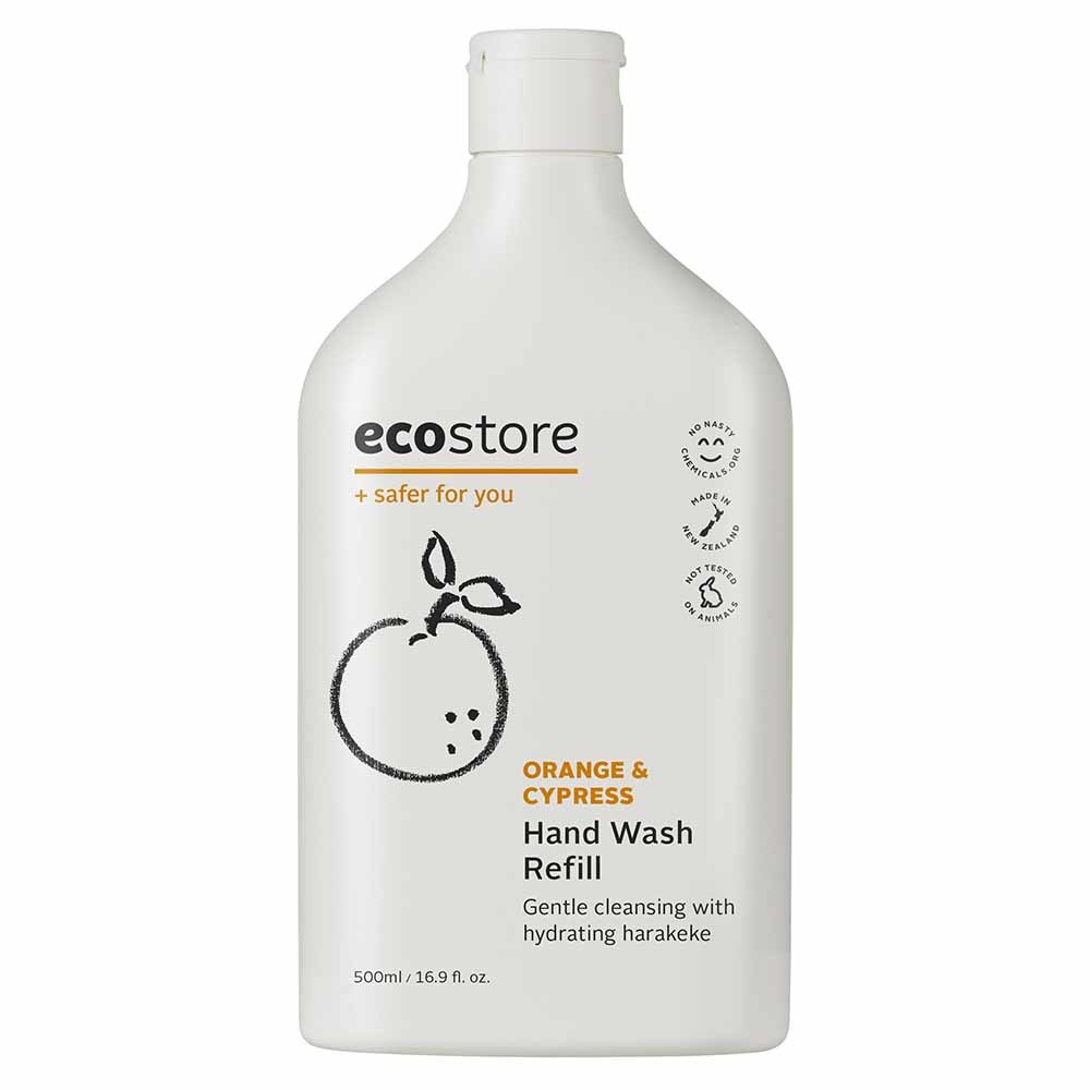 Ecostore Hand Wash (Refill) Orange & Cypress 500ml