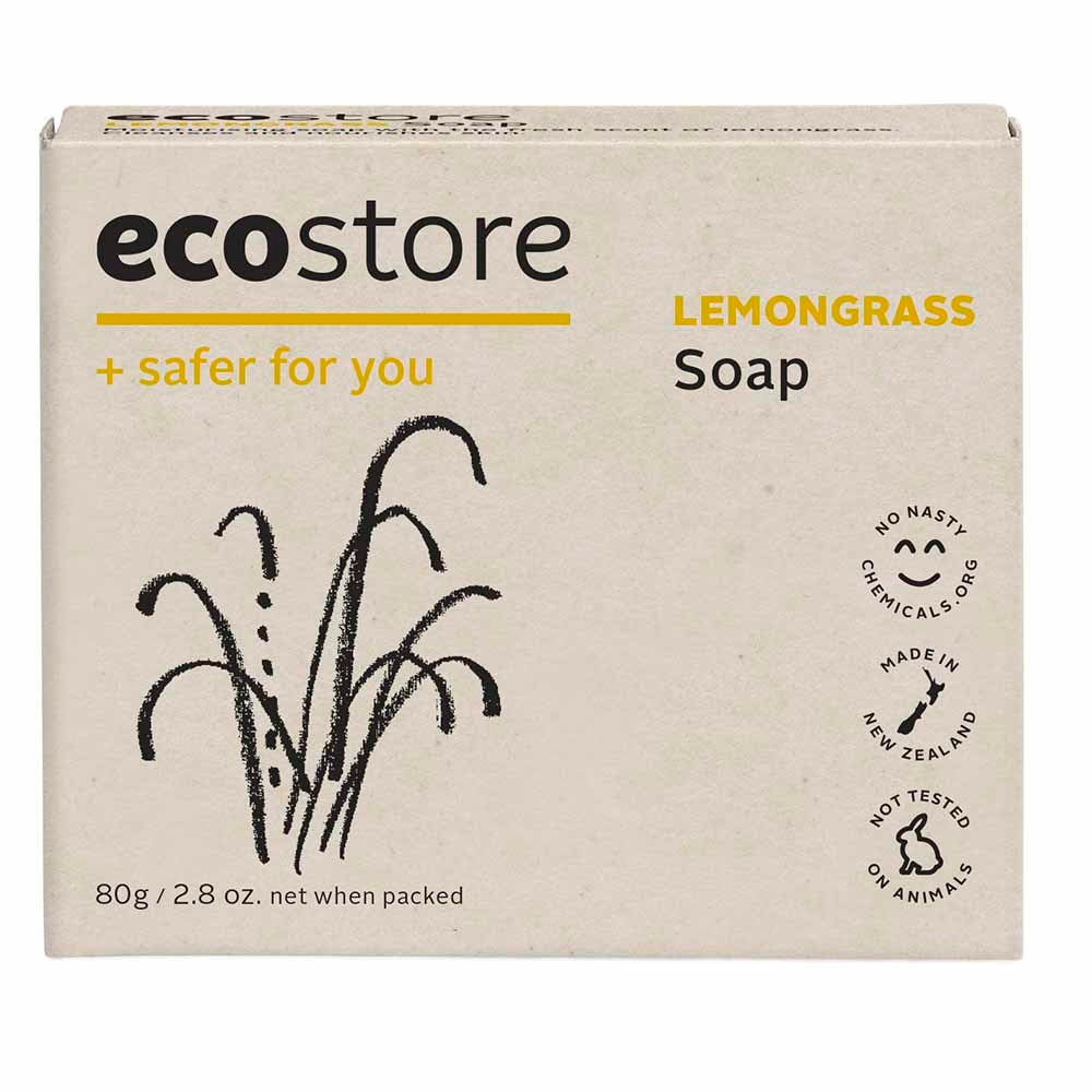 Ecostore Soap Lemongrass 80g