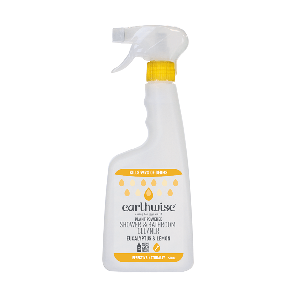 Earthwise Shower & Bathroom Cleaner Eucalyptus & Lemon 500ml