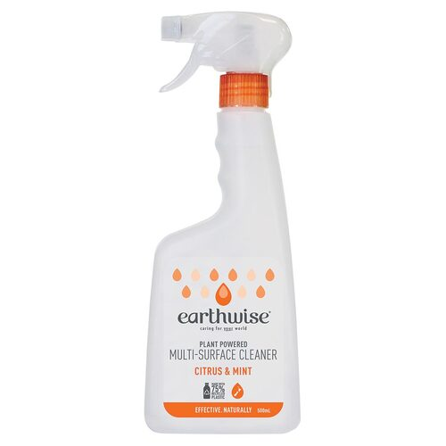 Earthwise Multi-Surface Spray Cleaner Citrus & Mint 500ml