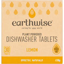 Earthwise Lemon Dishwasher Tablets 30 Tablets 600g