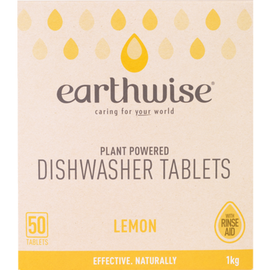 Earthwise Lemon Dishwasher Tablets 50 Tablets 1kg