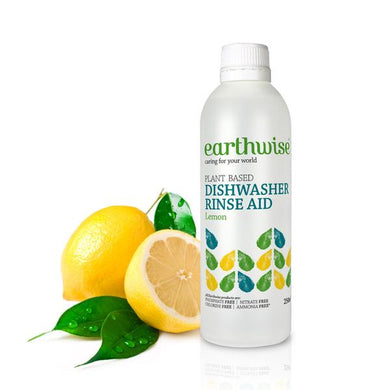 Earthwise Dishwasher Rinse Aid Lemon 250ml