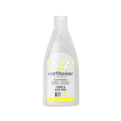 Earthwise Dish Liquid Lemon & Aloe Vera 400ml