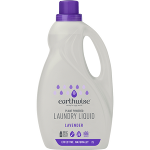 Earthwise Laundry Liquid Lavender 2L
