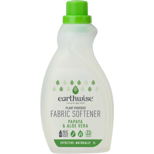 Earthwise Fabric Softener Papaya & Aloe Vera 1L