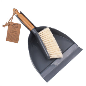 White Magic Eco Basics Dustpan & Brush Set 1Pk