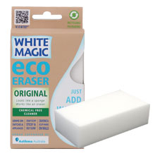 White Magic Eraser Sponge Standard 1Pk
