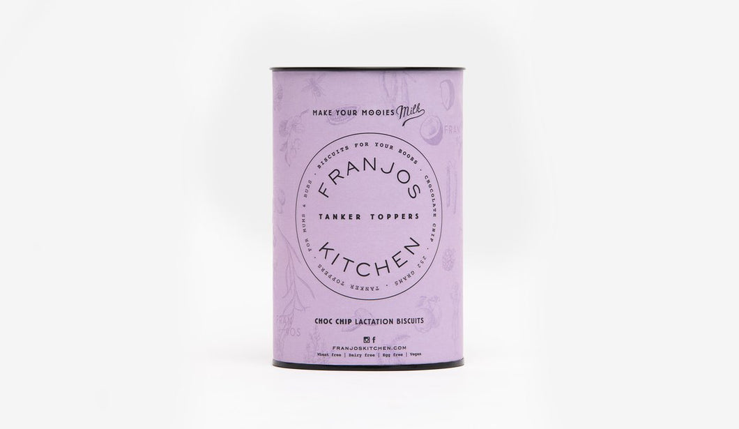 Franjo's Kitchen Lactatation Biscuits Choc Chip 250g