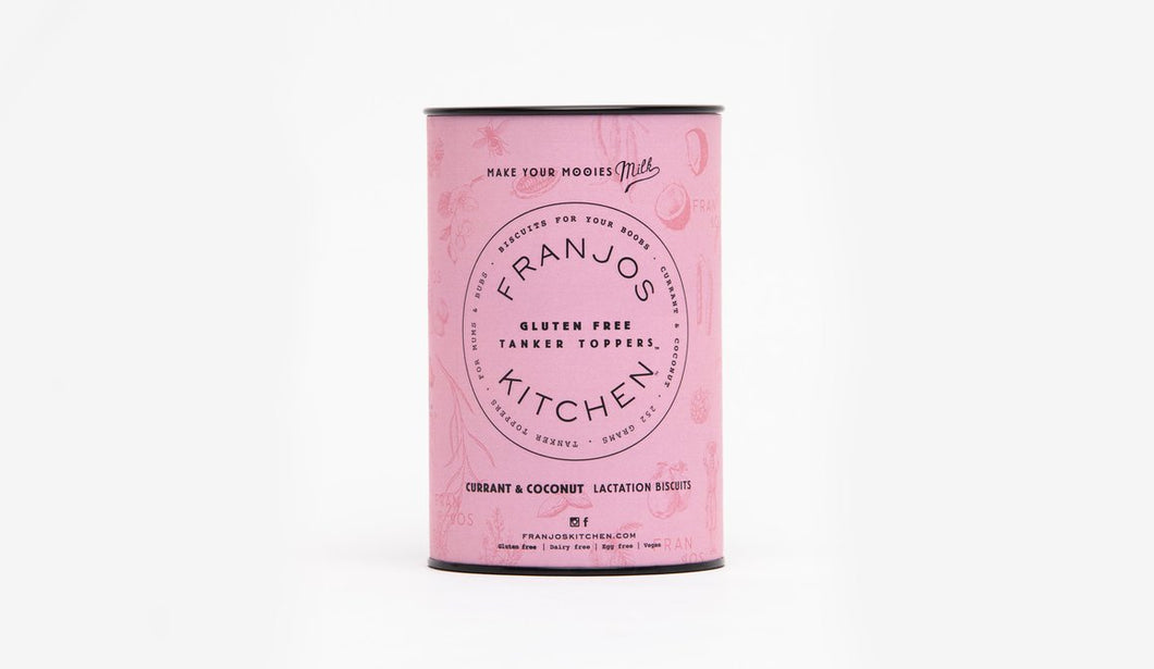 Franjo's Kitchen Lactation Biscuits Gluten Free Currant 250g