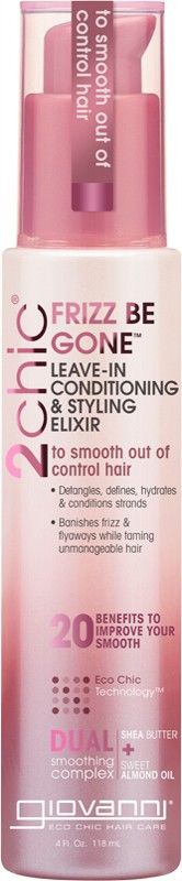 Giovanni Leave-in Conditioner - 2chic Frizz Be Gone (Frizzy Hair) 118ml