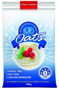 Gloriously Free Uncontaminated Oats 500g HALF PRICE LIMIT 1 PER ORDER