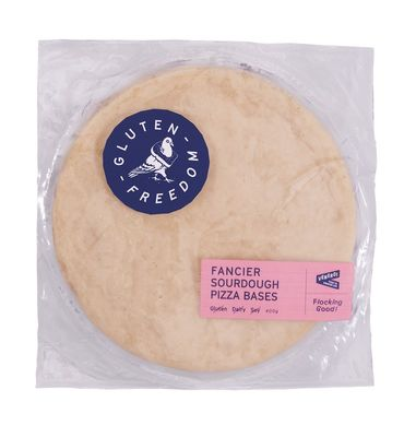 Gluten Freedom Fancier Sourdough Pizza Base 400g (2x200g)