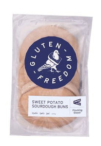 Gluten Freedom Sweet Potato Sourdough Buns 300g (3x100g)