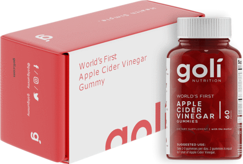 Goli Nutrition Inc Apple Cider Vinegar Gummies 60 pack