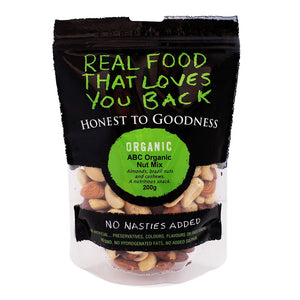 Honest To Goodness Organic ABC Raw Nut Mix 200g
