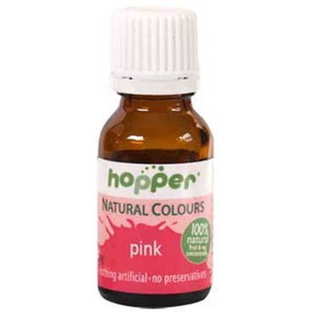Hopper Natural Colouring Pink 20g Organics On A Budget