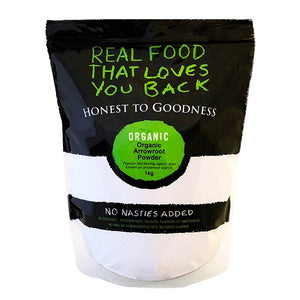 Honest To Goodness Organic Arrowroot Powder 1kg