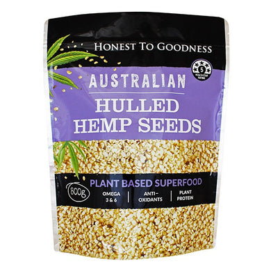 Honest to Goodness Australian Hemp Seeds 800g