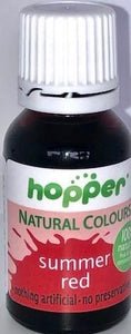 Hopper Natural Colouring Summer Red 20g