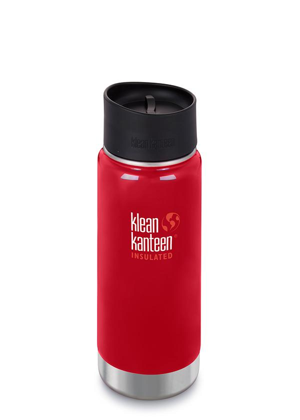 Klean Kanteen Insulated Travel Mug Cafe Cap Various Colours - 473ml