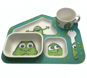 Little Mashies 5pc Bamboo Meal Set Biodegradable
