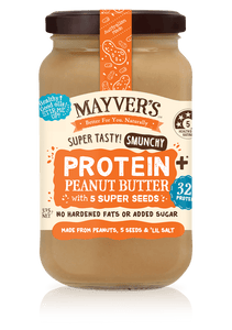 Mayver's Protein+ Peanut Butter w 5 Seed 375g