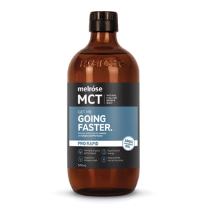 Melrose MCT (Medium Chain Triglycerides) Pro Rapid Going Faster Oil 500ml