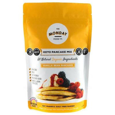 Monday Food. Co Keto Pancake Mix  - Vanilla Bean 215g