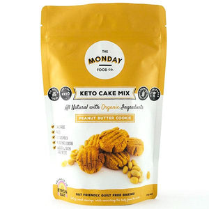 Monday Food. Co Keto Cake Mix - Peanut Butter Cookie 250g