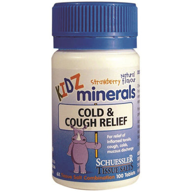 Martin & Pleasance Kidz Minerals Cough & Cold Relief 100t