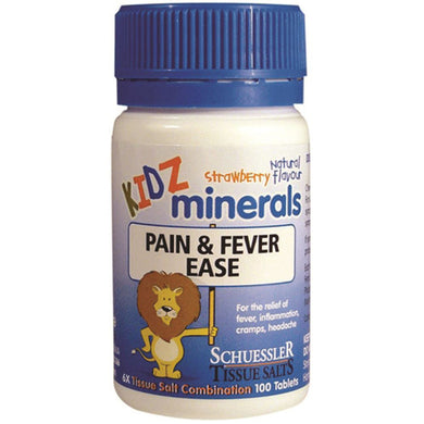 Martin & Pleasance Kidz Minerals Pain & Fever Ease 100t