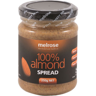 Melrose Natural Almond Spread 250g
