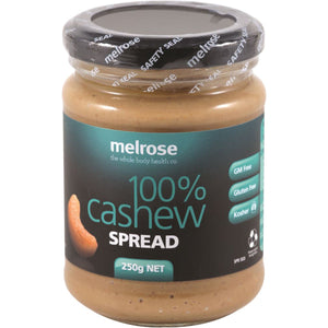Melrose Natural Cashew Spread 250g