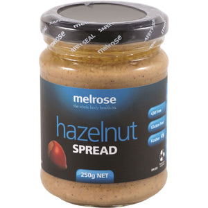 Melrose Natural Hazelnut Spread 250g