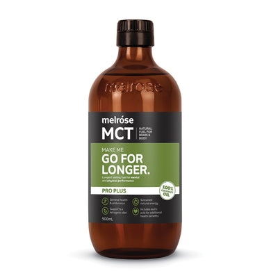 Melrose MCT Pro Plus Go for Longer Oil 500ml
