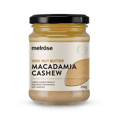 Melrose Natural Macadamia Cashew Nut Butter 250g SALE