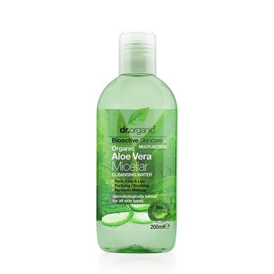 Dr Organic Micellar Cleansing Water Aloe Vera - 200ml