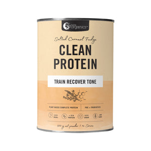 Nutra Organics Clean Protein Salted Caramel Fudge 500g