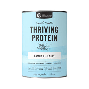Nutra Organics Thriving Protein (Organic Pea Rice Blend) Smooth Vanilla 450g