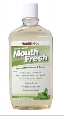 Nutribiotic Mouthwash Peppermint 355ml