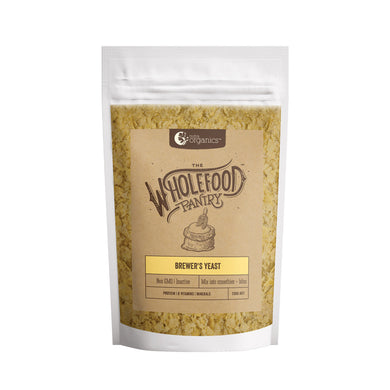 Nutra Organics Wholefood Pantry Brewers Yeast 200g