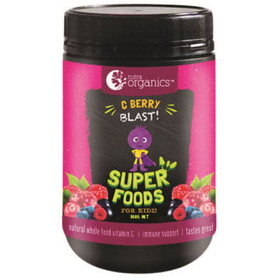 NutraOrganics Super Foods for Kidz C Berry Blast 100g