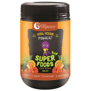 NutraOrganics Super Foods for Kidz Vital Veggie Powder 150g