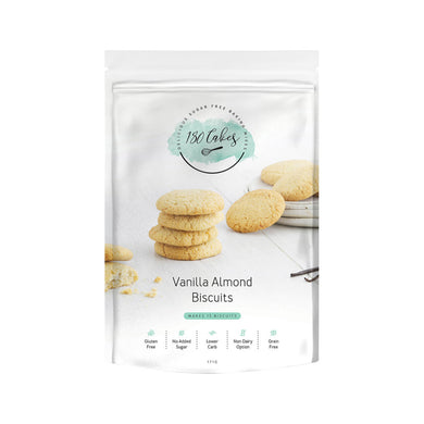 180 Cakes Biscuit Mix Vanilla Almond 171g