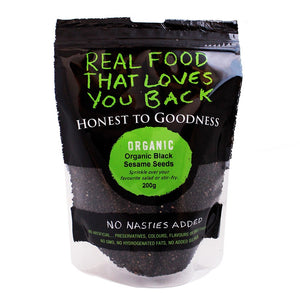 Honest To Goodness Organic Black Sesame Seeds