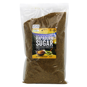 Chef's Choice Certified Organic Rapadura Sugar 1kg