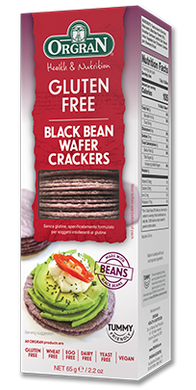 Orgran Gluten Free Black Bean Wafer Crackers 65g