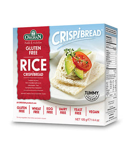 Orgran Toasted Rice Crispibread 125g